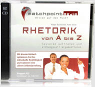 Rhetorik Hörbuch CD Cover Foto