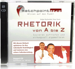 Rhetorik Hörbuch CD Cover
